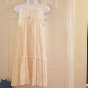 xhilaration off white dress size small